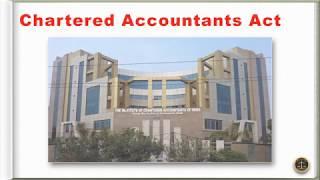 Chartered Accountants Act, 1949