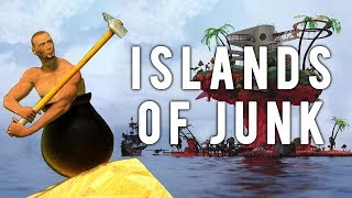 Getting Over It and Plastic Beach - Islands of Junk