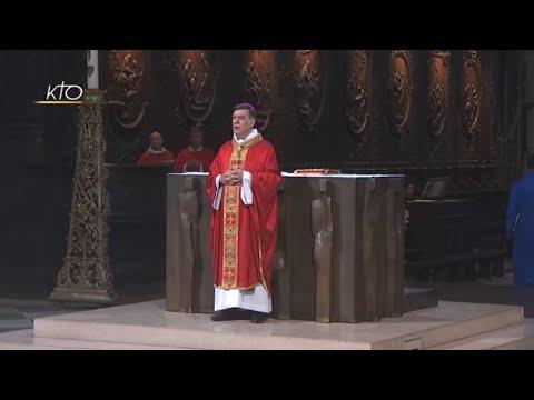 Messe de la Pentecôte du 20 mai 2018
