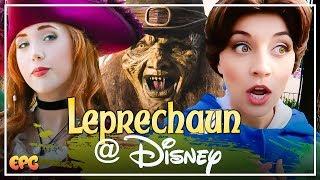 Disney Princesses React to A SCARY LEPRECHAUN Story! Ask The Disneyland Princesses!