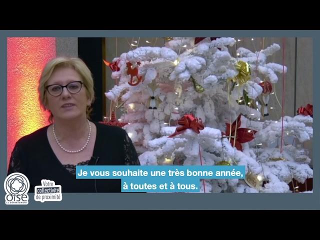 Les vœux 2020 de la Présidente du Conseil départemental de l'Oise
