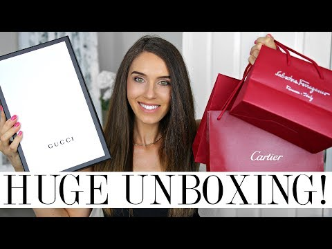 HUGE LUXURY HAUL & UNBOXINGS! | Vegas Haul!