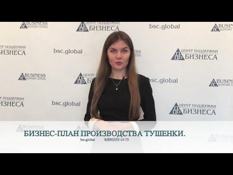 БИЗНЕС-ПЛАН ПРОИЗВОДСТВА ТУШЕНКИ