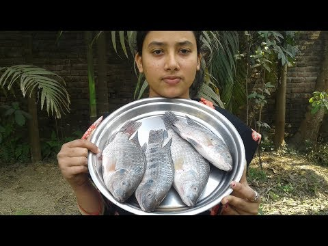 Tilapia Fish Curry | Fish Recipe | Cooking By Street Village Food
