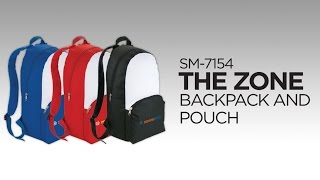 SM-7154 The Zone Backpack And Pouch