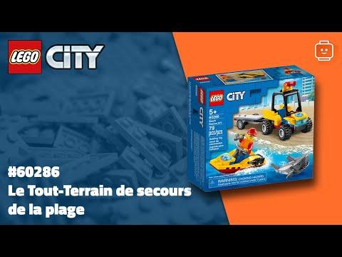 Vidéo LEGO City 60286 : Le Tout-Terrain de secours de la plage