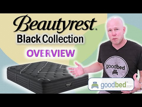 Beautyrest Black Mattress Options EXPLAINED by GoodBed (VIDEO)