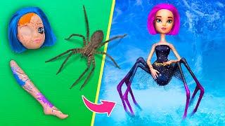 Nie zu alt für Puppen! 9 Halloween Barbie und Disney DIYs