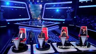 "João Correia - ""The Scientist"" Coldplay - The Voice Portugal - Provas Cegas - Season 2"