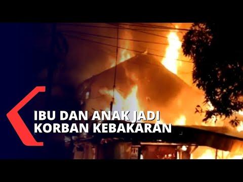 Kebakaran Rumah di Surabaya, 20 Mobil Pemadam Kebakaran Dikerahkan