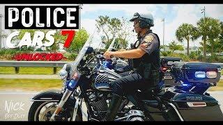 POLICE CARS unlocked (Harley Davidson Road King Motorcycle Davie Police Department)