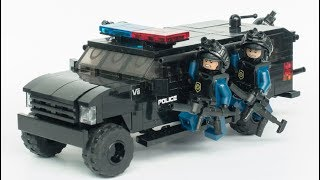 Lego City Police Chase Thief to Save Huge Surprise Egg Toys Gifts