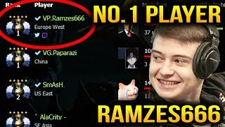 Ramzes666 Antimage TOP 1 Player In the World Dota 2 7.07c