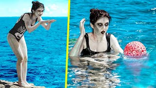 Зомби в отпуске / 11 летних идей для Зомби