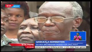KTN Prime: President Uhuru nominates retired cleric Eliud Wabukala to head EACC