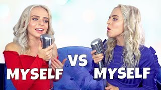 Top Hits of 2018 in 5 Minutes (SING OFF vs. MYSELF) - Madilyn Bailey