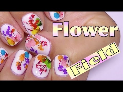 Dry Dried Flower Nail Art Tips Decoration Wheel.banggood.com