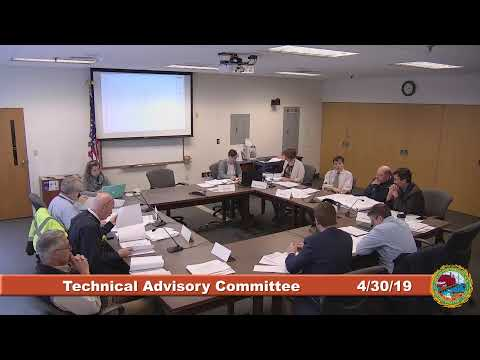 Technical Advisory Committee 4.30.2019