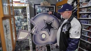 Meet the Dallas Cowboys fan who turned his house into a