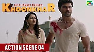 Bellamkonda Srinivas Action Scene | Jaya Janaki Nayaka KHOONKHAR