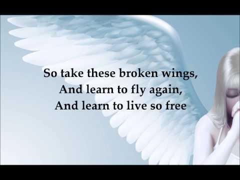 Mr Mister - Broken Wings (lyrics on screen)