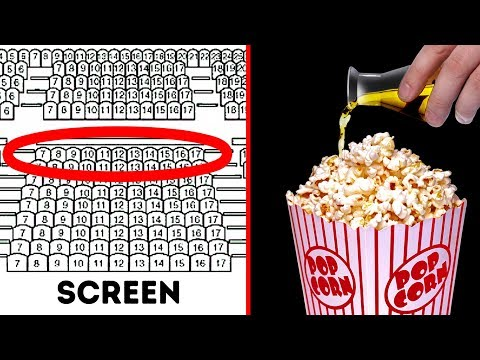 9 Secrets Movie Theaters Are Hiding From You