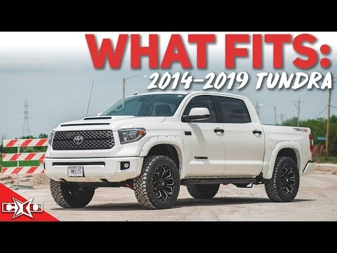 What Fits My 14-19 Toyota Tundra