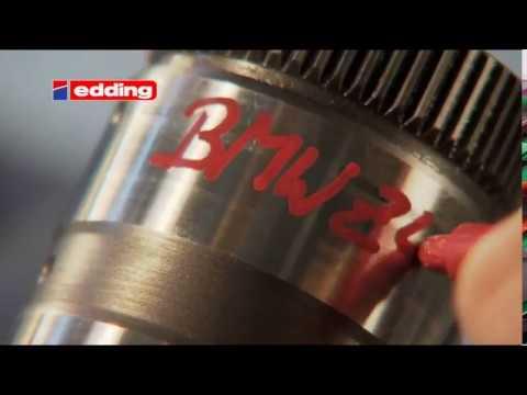 Einfach beschriften in der Industrie - edding Lackmarker 87502 industry