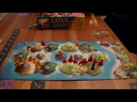 Catan: Junior - How To Play and Playthrough