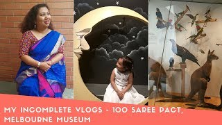 My Incomplete Vlogs   Talked Abouth 100 Saree Pact! Bengali Vlog #103