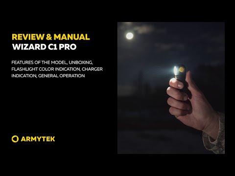 Review & Manual: Armytek Wizard C1 Pro
