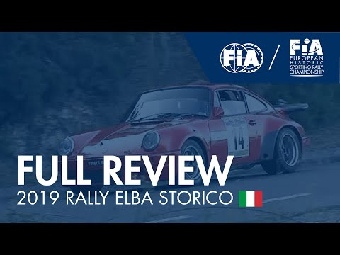 #EHSRC - Round 8 – Rally Elba Storico - Full Review Video