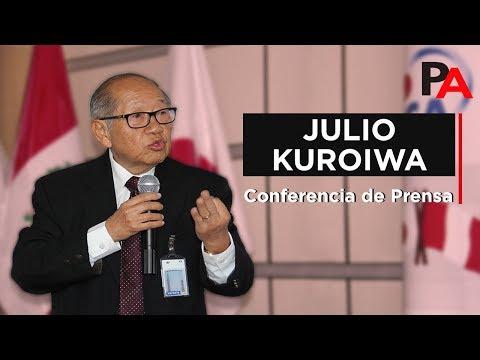 Conferencia de Prensa completa (11/2017) - Ingeniero Julio Kuroiwa