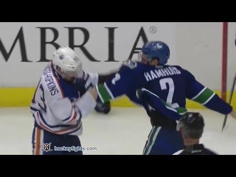 Dan Hamhuis vs. Ryan Nugent-Hopkins