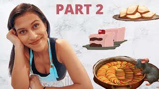 RECREATING FOOD FROM DISNEY MOVIES FOR A WEEK | Part 2: Ratatouille, Stitch Cake, Tianas Beignets