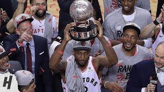 Toronto Raptors Trophy Presentation Ceremony - 2019 Eastern Conference Finals Champions