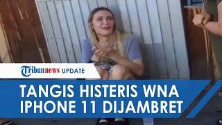 Viral Video Turis Rusia Menangis setelah HP Seharga Rp20 Juta Dijambret, Ini Kronologinya