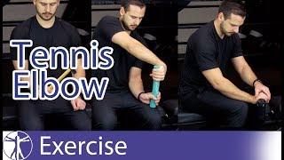 Lateral Epicondylalgia Exercises | Tennis Elbow Rehab