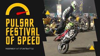 Sachin khengle riderboy at pulsar festival of speed
