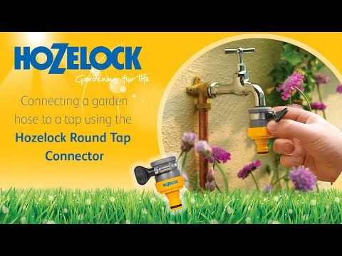 How to connect your hosepipe to a kitchen mixer tap using a Hozelock 2176 connector