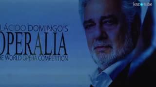 Пресс конференция с участием Пласидо Доминго