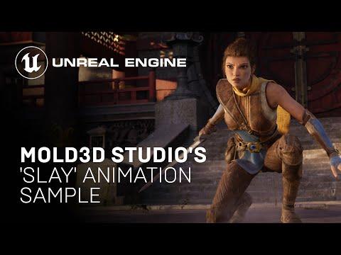 Mold3D Studio's 'Slay' Animation Sample Project | Unreal Engine