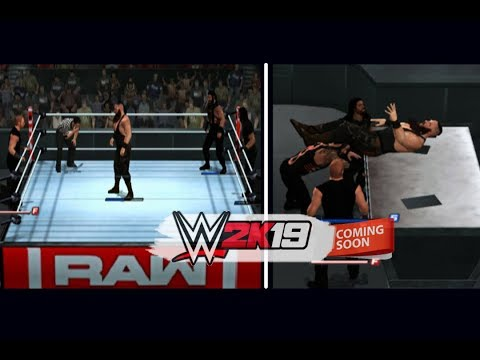 Download The Shield Attacks Braun Strowman • PS2 Preview (WWE 2K19) HD Mp4 3GP Video and MP3