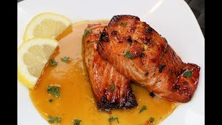 Honey Glazed Salmon Recipe - The Best Salmon Recipe
