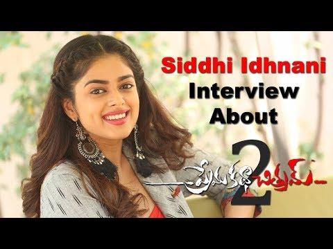 Siddhi Idhnani Interview About The Movie Prema Katha Chitram 2
