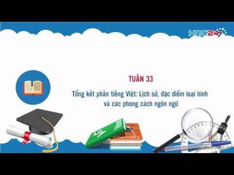 Tổng kết phần tiếng Việt (Nguồn: ST)