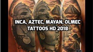 Olmec Tattoos - Inca Tattoos - Aztec Tattoos - Best Mayan Tattoos HD