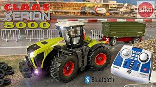 SIKU Control Claas Xerion 5000 mit Bluetooth Fernsteuerung und vielen Funktionen   Review