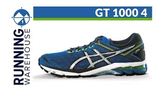 Asics GT-1000 4 Men's Running Shoes video