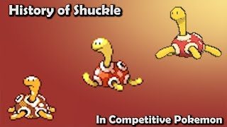 Shuckle  - (Pokémon) - How GOOD was Shuckle ACTUALLY? - History of Shuckle in Competitive Pokemon (Gens 2-6)